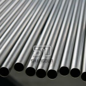 tianium alloy seamless tubes