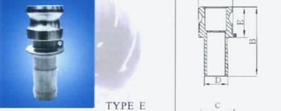 COUPING TYPE E