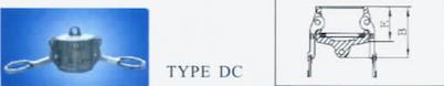 CAM COUPLING TYPE DC