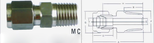 male connectors
